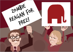 Zombies make an appearance in Corporate America!