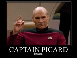 Make like Picard and engage. Image from deviantart.
