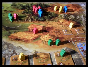 It turns out worker placement, in games like Stone Age, is one type of drafting. Who knew? Image from the Board Game Geek.