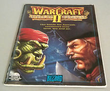 I happy read through the Warcraft II manual before getting anywhere near a computer. Today, a digital game manual is a relic of another age. Image from ebay.