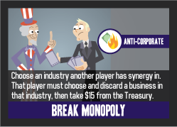 Break Monopoly: the game's biggest buzz-kill.