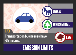 No one wants to be the guy who passes Emission Limits, even if it's the right thing to do.