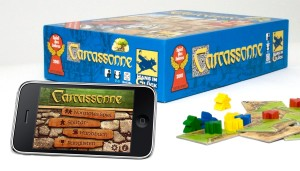 Many players have enjoyed Carcassonne through the app version, but the digital and non-digital components do not work together.
